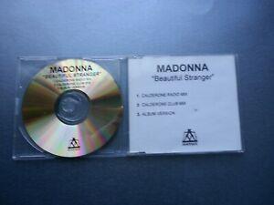 Madonna - Beautiful Stranger (RARE UK 3 MIX TEST PRESSING PROMO CD)