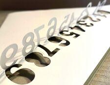 Stanzschablone / Cutting dies pop up Zahlen Feiern Jubiläum  0-9, 10 Stk. 1,9 cm