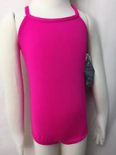 Motionwear Pink Strappy Back Cami Leotard, Size Int. Child (6X-7), New