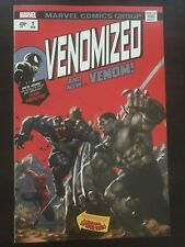 Venomized #1 2018 Marvel Skan variant Cover Trade White Virgin NM 9.4 Hulk 181