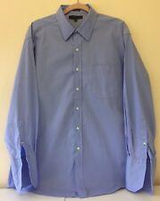 Para hombres Camisa Tommy Hilfiger. Manga Larga Azul Talla 17/32in. Excelente Estado