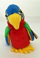 TY Beanie Baby JABBER the parrot  MWMT Stuffed Animal Toy