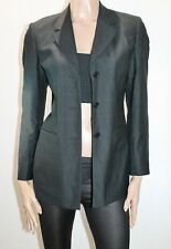Bongardi Brand Charcoal Long Sleeve Dress Business Jacket Size 6 BNWT  #JA21