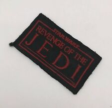 Vintage Star Wars Revenge Of The Jedi Badge Patch fan club Rotj Rare