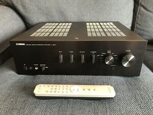 Yamaha A-S501 Stereo Integrated Amplifier Bundle with Bluetooth module & Cables