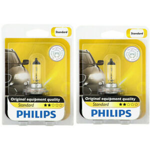 2 pc Philips Cornering Light Bulbs for Porsche Cayenne Cayman Panamera ye