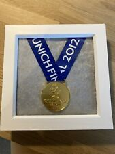 More details for chelsea fc uefa champions league 2012 munich winners medal framed