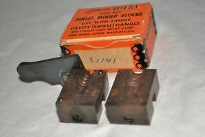 Vintage Lyman / Ideal 31141 Bullet Mold Cavity 30cal  Mould With Original Box