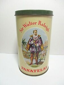 VINTAGE SIR WALTER RALEIGH PANATELAS TIN - E. ALTON & Co Ltd , NOTTINGHAM