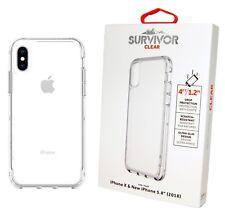 Original Griffin Sobreviviente Funda Transparente para Apple Iphone XS / X -