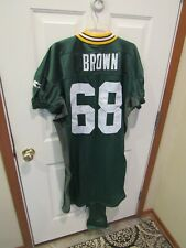 GARY BROWN 1996 Green Bay Packers NFL Football team practice jersey sz 56L XXXI
