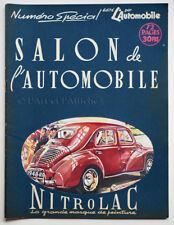 L'AUTOMOBILE n° 23 Numéro spécial SALON DE L'AUTOMOBILE 1947, Revue Vintage Cars