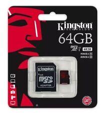 Kingston 64GB Micro SDXC Memory Card 4 Go Pro Hero 4k HD Video U3 90MB/s SDXC