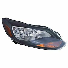 Fits For 2012 2013 2014 Ford Focus Headlight W/BLACK RIGHT PASSENGER