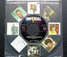 """7"""" Fats Domino - Jambalaya/ I Hear You Knocking - US Imperial"""