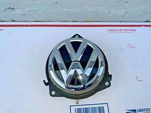 2012-2018 Volkswagen Beetle Rear Trunk Tailgate Emblem Opener Release Handle OEM