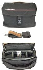 Tamrac Pro Shoulder Strap Black Compartment Accessory Bag Made In USA Vintage
