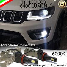 LAMPADE FENDINEBBIA H11 LED CANBUS JEEP COMPASS MK2 6000K 6400 LUMEN