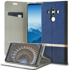 Book Cover for Huawei Mate 10 Pro Faux Leather Case Card Pocket&Magnet Slim Etui