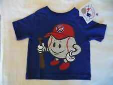 New Baby Boy's Size 9-12 Months Mlb Chicago Cubs Baseball T Shirt