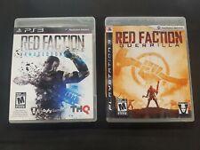 Red Faction: Guerrilla & Armageddon (PS3)