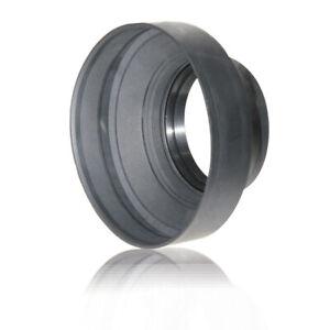 AGFA 67mm Heavy Duty Rubber Lens Hood For DSLR Camera Lenses 67mm