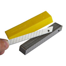 50pcs 9mm Blades Snap Off for 58° Stainless Steel Blade Window Tint Cutting Tool