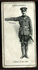 Tobacco Card, Imperial Canada, INFANTRY TRAINING, 1915, Field Signals, #44
