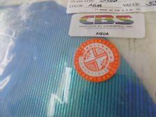 """Dichroic Glass:CBS 90 COE Aqua on Thin Reed Textured Black- 3""""Sq"""