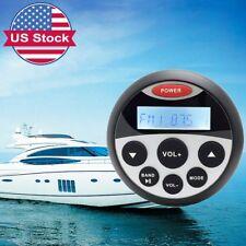 "3.5""Marine Gauge Radio Bluetooth Stereo ATV Audio Receiver RV Motorcycle USB MP3"