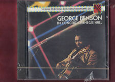 GEORGE BENSON IN CONCERT CARNEGIE HALL CD NUOVO SIGILLATO