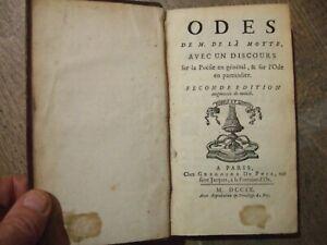 Lot livres anciens,1709, 1 Volume, Rare, complet