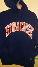 RUSSELL ATHLETIC SYRACUSE UNIVERSITY Hoodie Sweatshirt Mens  Large