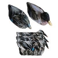 Hunting Duck Decoy Cover 3D Pull Photo Realistic Duck Cove Flexible Mallard Sock