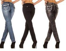 Jeans da donna slim, skinny Blu Taglia 44