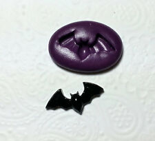 Silicone Mold Miniature Bat Mould (25mm) Fondant PMC Jewelry Dollhouse Fimo Clay