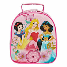 NEW Disney Collection Girls Princess Lunch Tote Box Pink  Multi One size 3+