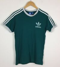 Adidas Vintage retro timbre renovación Sports Festival Top T Shirt Urban Grunge Reino Unido XS/S