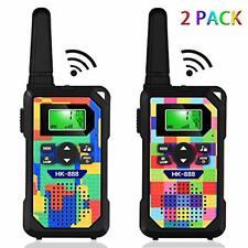 Kids' Walkie Talkies,3 KM Long Range Walkie Talkie Toys with 8 Channels, 2 Way