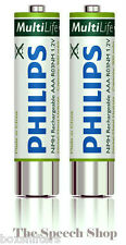 Philips LFH9154 AAA, NiMH Rechargeable Batteries ***Free UK Delivery***