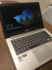 Asus ZenBook UX31a laptop Intel Core i7 processor 256gb SSD fast hard drive