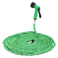 Expandable Garden Hose Spray Gun Flexible Tupe Car Wash Plastic Hoses Water Tool