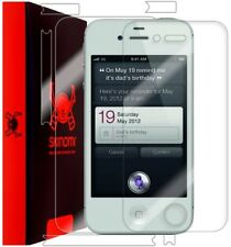 Skinomi Clear Full Body Protector Phone Film Cover for Apple iPhone 4S AT&T