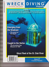 WRECK DIVING MAGAZINE #37 2015, UNCOVER THE PAST.
