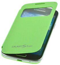 PhoneStar Galaxy S4 mini Flip-Cover Schutzhülle Case mit Sicht Fenster grün