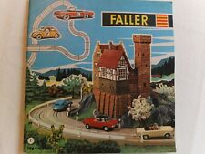 Faller 1964/65 catalogue of models,aeroplanes,slot cars/tracks,English + prices