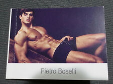 Pietro Boselli Model Photo Book Portfolio -  Underwear Male Model