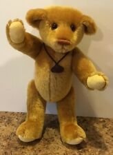 Gund Mohair Bear Cyril Gold Label Treasured Teddies