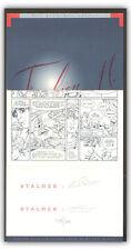 Triptyque + ex-libris STALNER Planches volées inédites 300ex s 20x52