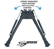 Vipertek gun bipod 9-13 inch with pivot motion